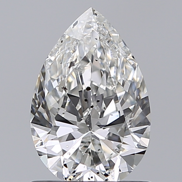 0.96 Carat Pear Loose Diamond, F, SI2, Ideal, IGI Certified