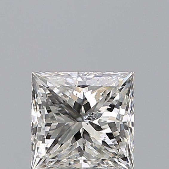 0.96 Carat Princess Loose Diamond, H, SI2, Excellent, IGI Certified