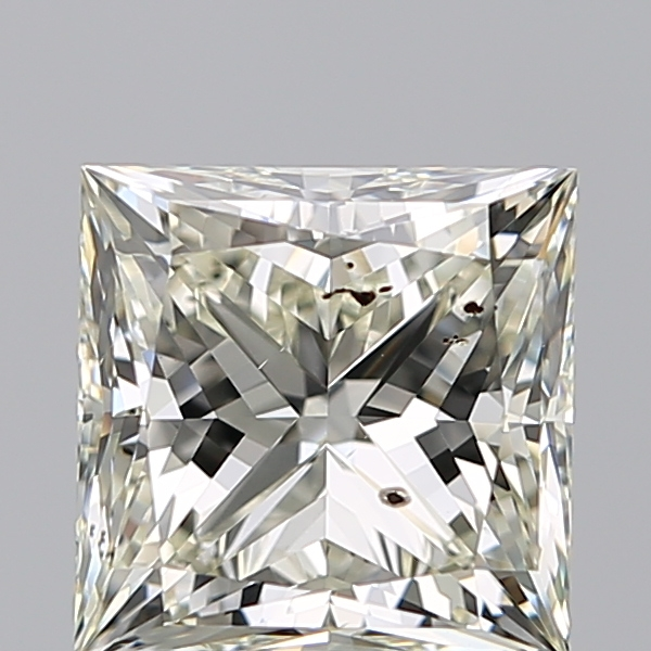 2.51 Carat Princess Loose Diamond, L, SI2, Ideal, IGI Certified