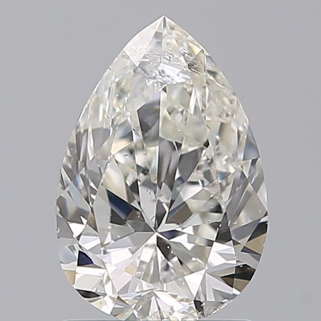 1.21 Carat Pear Loose Diamond, I, SI2, Ideal, IGI Certified