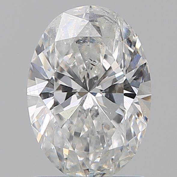 1.23 Carat Oval Loose Diamond, F, SI2, Ideal, IGI Certified | Thumbnail