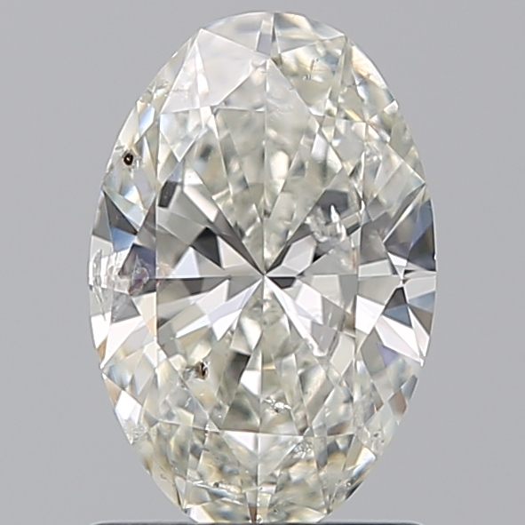 0.99 Carat Oval Loose Diamond, G, SI2, Ideal, IGI Certified