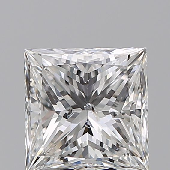1.30 Carat Princess Loose Diamond, F, SI2, Ideal, IGI Certified