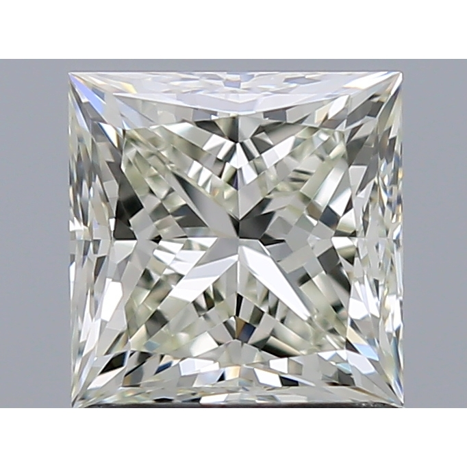 1.20 Carat Princess Loose Diamond, K, VVS2, Ideal, IGI Certified