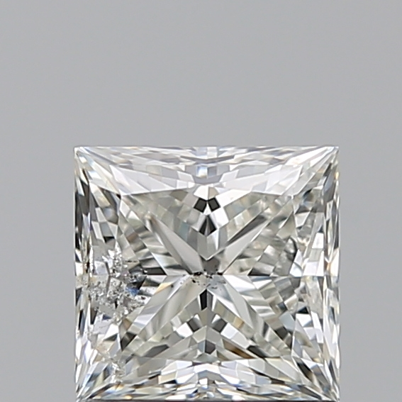 1.00 Carat Princess Loose Diamond, H, SI2, Ideal, IGI Certified