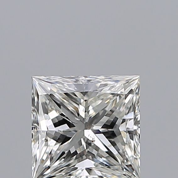 0.96 Carat Princess Loose Diamond, H, SI2, Ideal, IGI Certified