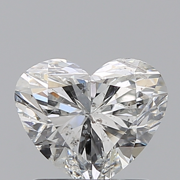 1.01 Carat Heart Loose Diamond, G, SI2, Ideal, IGI Certified