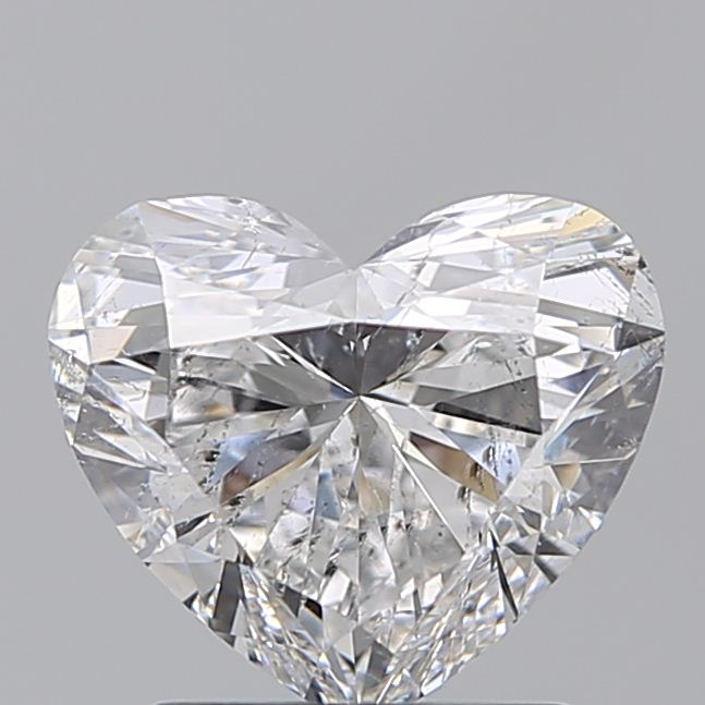 1.50 Carat Heart Loose Diamond, E, SI2, Ideal, IGI Certified