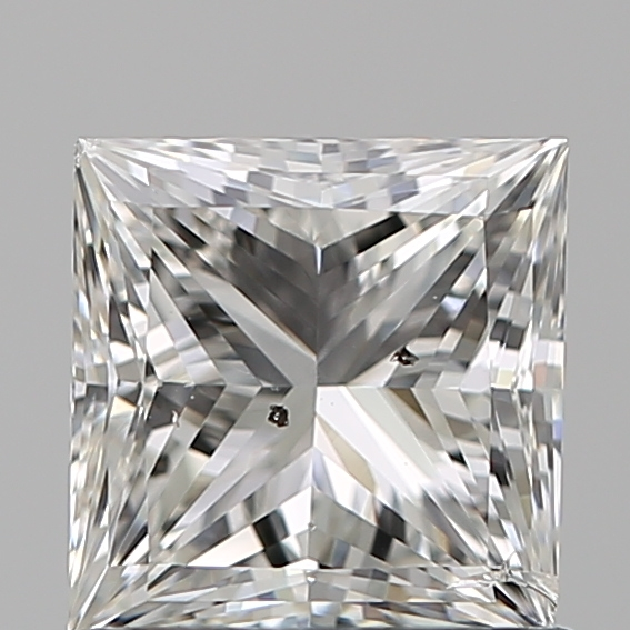 0.96 Carat Princess Loose Diamond, G, SI2, Ideal, IGI Certified