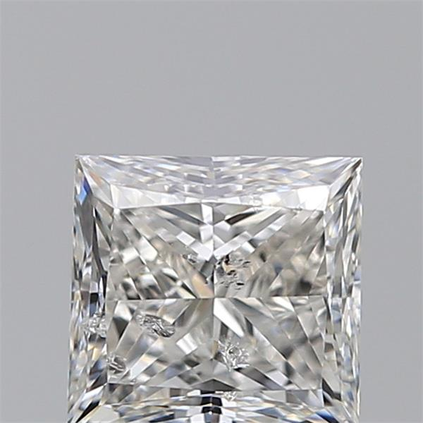 0.97 Carat Princess Loose Diamond, G, SI2, Excellent, IGI Certified | Thumbnail