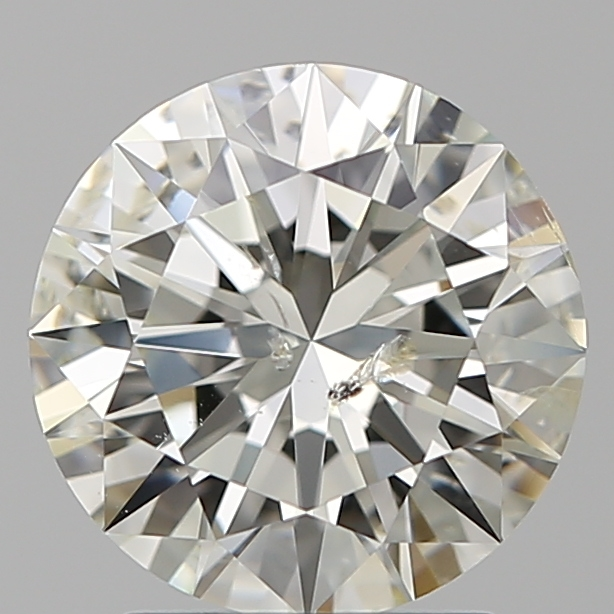 2.00 Carat Round Loose Diamond, J, SI2, Ideal, IGI Certified