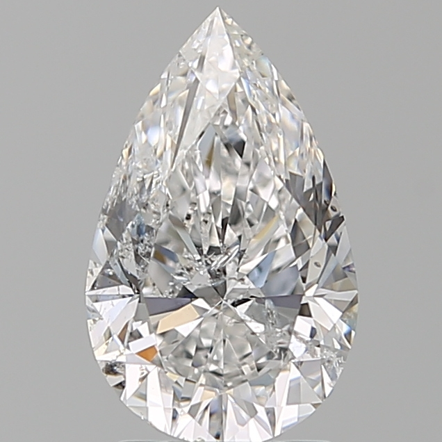 2.00 Carat Pear Loose Diamond, D, SI2, Ideal, IGI Certified