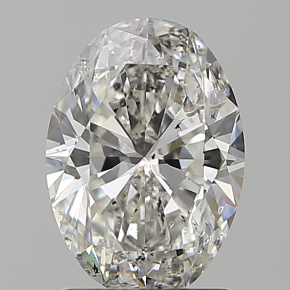 1.51 Carat Oval Loose Diamond, G, SI2, Ideal, IGI Certified