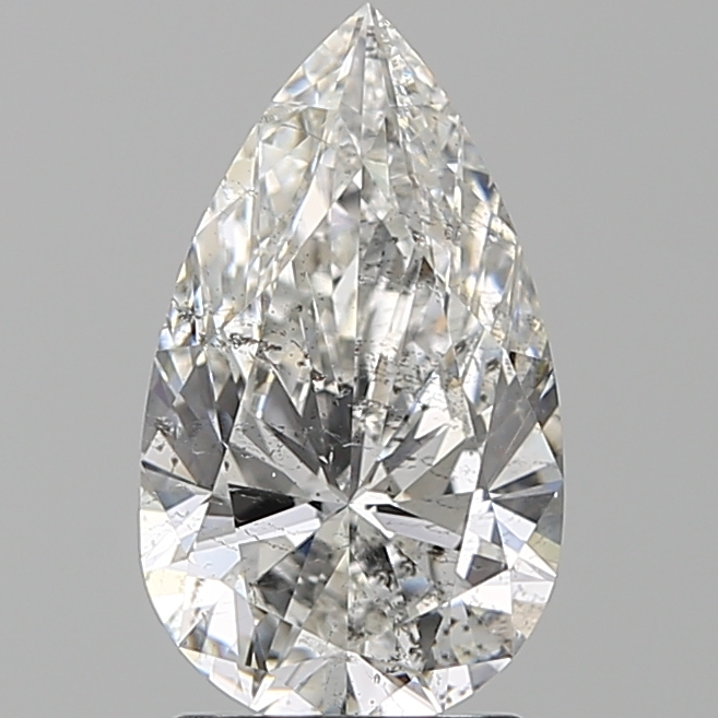 2.00 Carat Pear Loose Diamond, F, SI2, Super Ideal, IGI Certified
