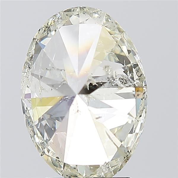 3.01 Carat Oval Loose Diamond, K, SI2, Ideal, IGI Certified