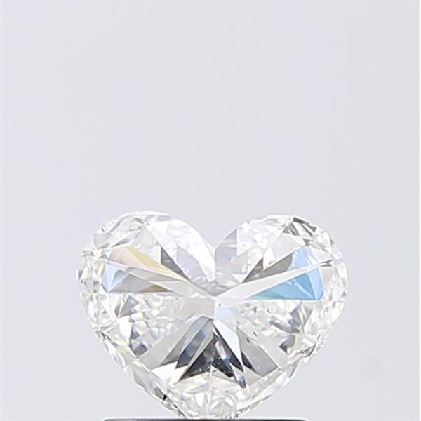 1.02 Carat Heart Loose Diamond, G, SI2, Super Ideal, IGI Certified