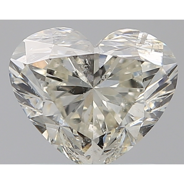 1.01 Carat Heart Loose Diamond, I, SI2, Ideal, IGI Certified
