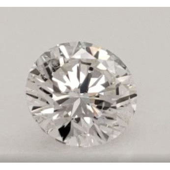 2.00 Carat Round Loose Diamond, G, SI2, Ideal, GIA Certified