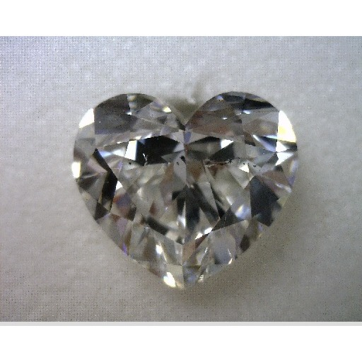 2.01 Carat Heart Loose Diamond, F, SI1, Ideal, GIA Certified