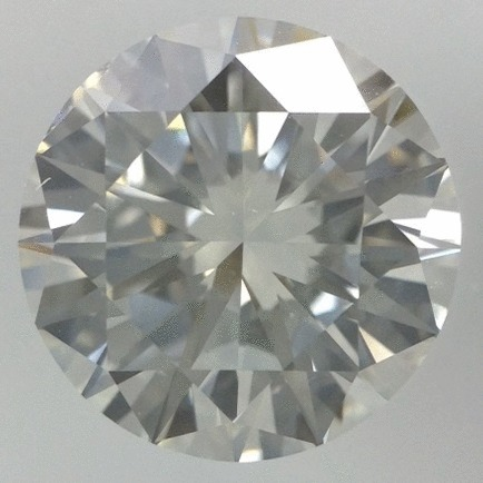 2.01 Carat Round Loose Diamond, J, VS2, Very Good, GIA Certified