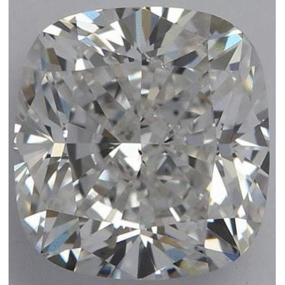 1.52 Carat Cushion Loose Diamond, G, SI1, Excellent, GIA Certified