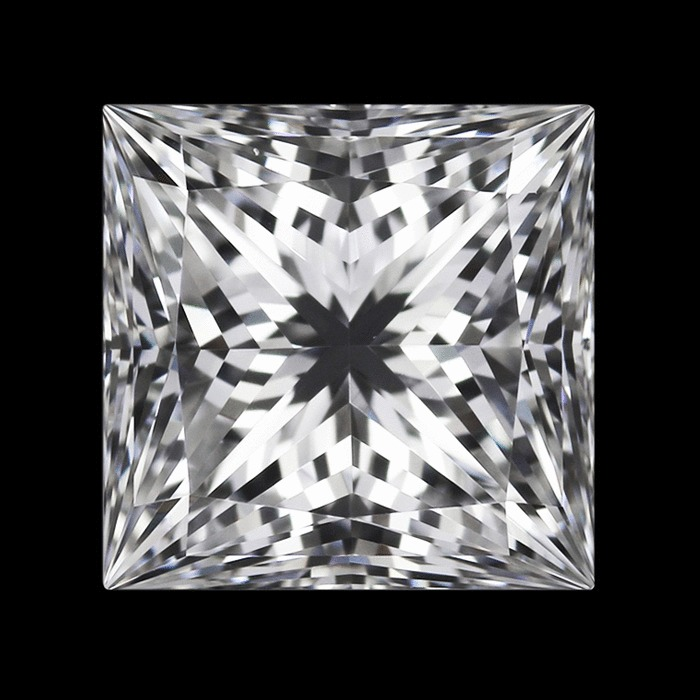 1.25 Carat Princess Loose Diamond, F, VS1, Super Ideal, GIA Certified