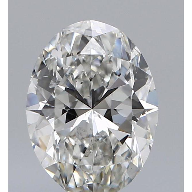1.57 Carat Oval Loose Diamond, G, SI1, Super Ideal, GIA Certified