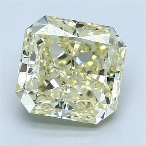 3.04 Carat Radiant Loose Diamond, FLY FLY, SI2, Ideal, GIA Certified