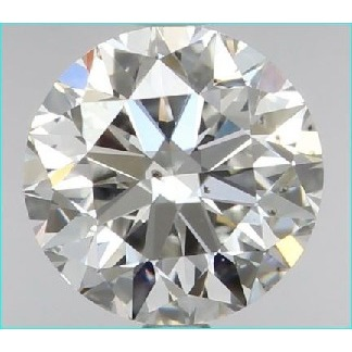 0.98 Carat Round Loose Diamond, H, SI1, Ideal, GIA Certified