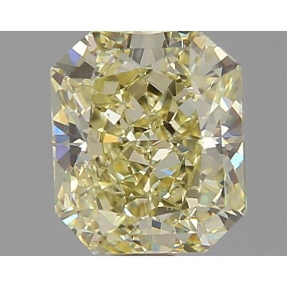 1.11 Carat Radiant Loose Diamond, Y - Z, VS2, Excellent, GIA Certified