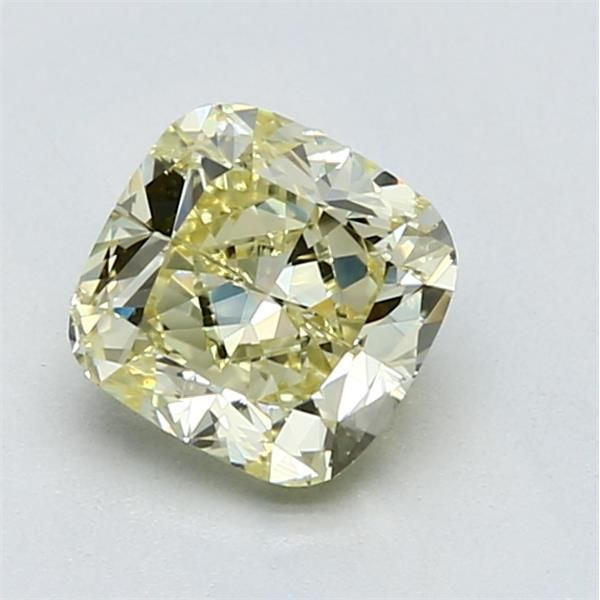 1.52 Carat Cushion Loose Diamond, FY FY, VS2, Excellent, GIA Certified