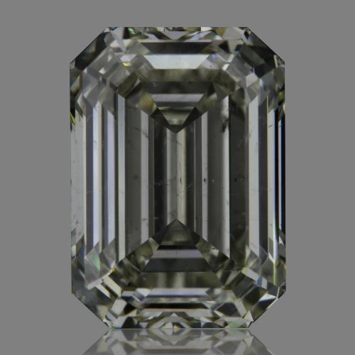 5.02 Carat Emerald Loose Diamond, J, SI2, Super Ideal, GIA Certified