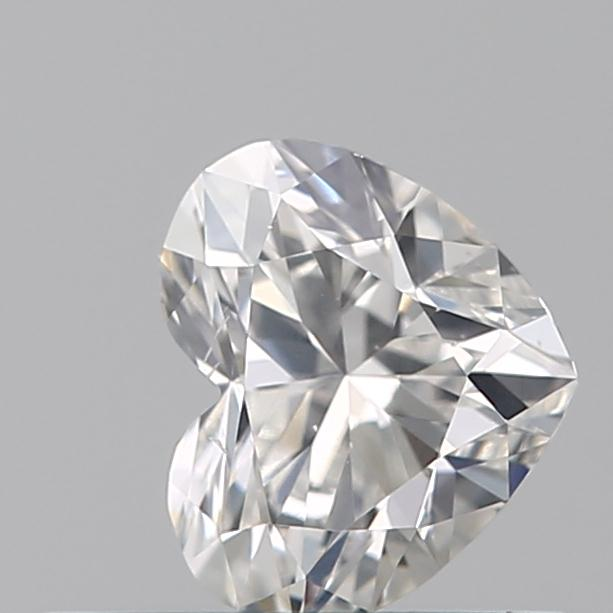 0.35 Carat Heart Loose Diamond, G, SI1, Ideal, GIA Certified