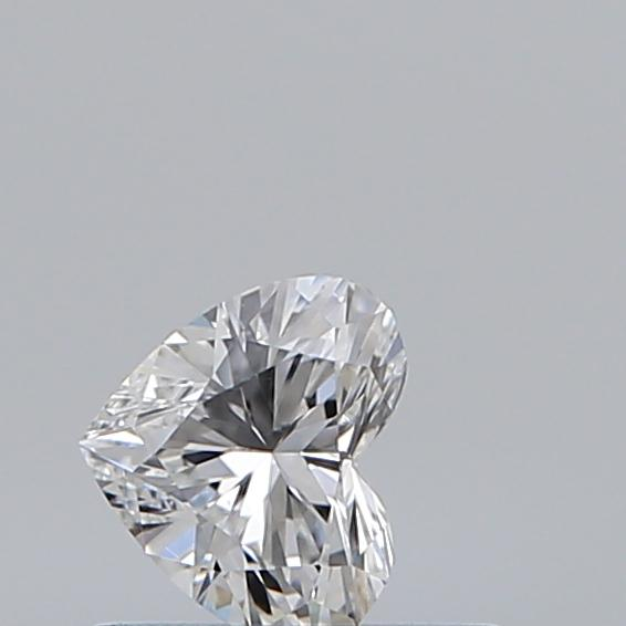 0.31 Carat Heart Loose Diamond, E, SI1, Super Ideal, GIA Certified