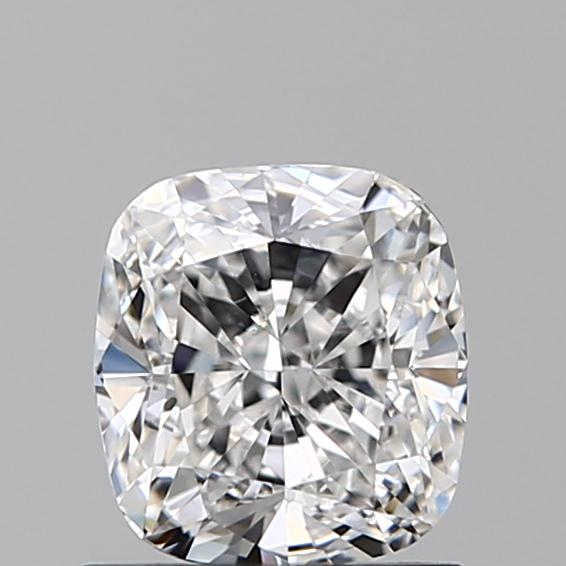 0.96 Carat Cushion Loose Diamond, E, VS2, Ideal, GIA Certified