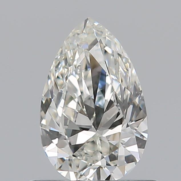 0.51 Carat Pear Loose Diamond, I, VS1, Excellent, GIA Certified