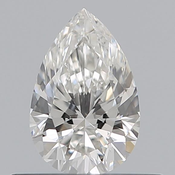 0.40 Carat Pear Loose Diamond, G, VS1, Super Ideal, GIA Certified | Thumbnail