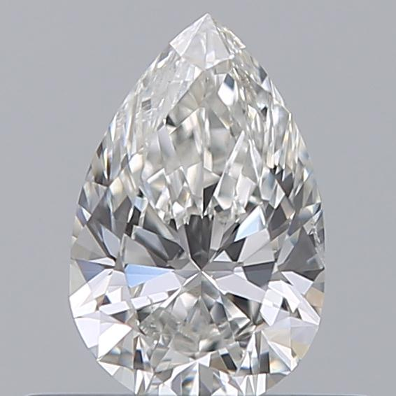 0.33 Carat Pear Loose Diamond, F, SI2, Excellent, GIA Certified