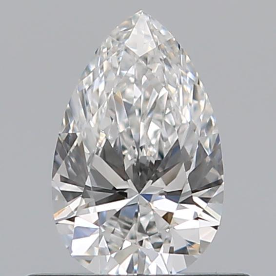 0.41 Carat Pear Loose Diamond, F, VVS2, Super Ideal, GIA Certified | Thumbnail