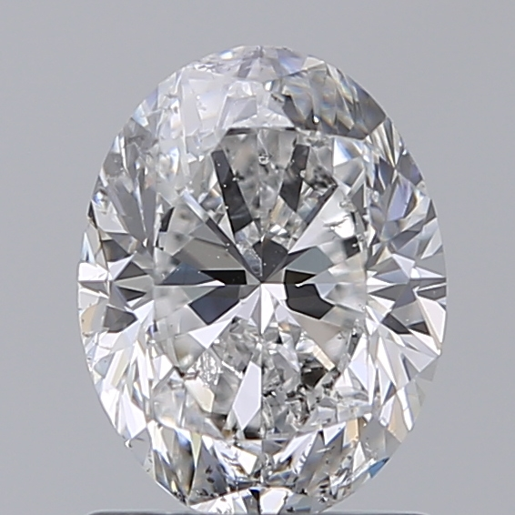 1.21 Carat Oval Loose Diamond, D, SI2, Excellent, GIA Certified