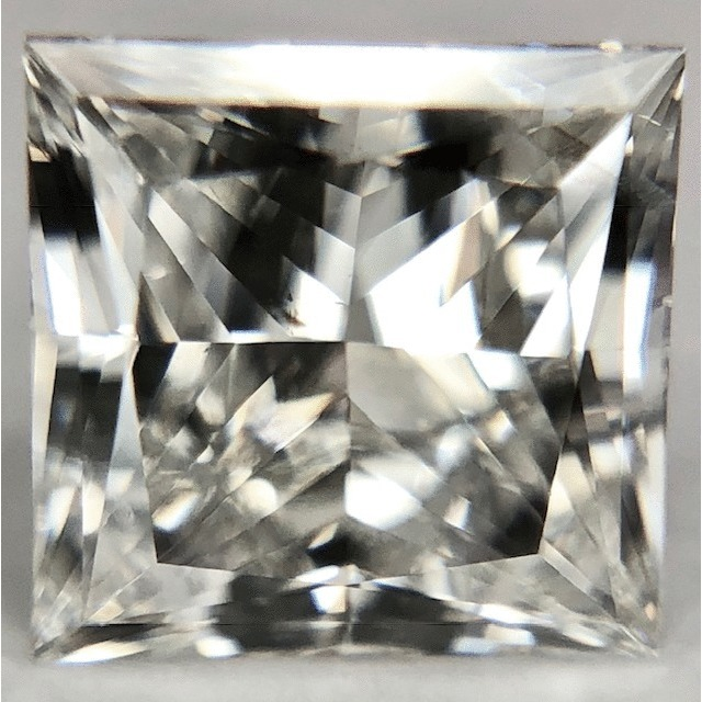 1.03 Carat Princess Loose Diamond, I, I1, Ideal, GIA Certified