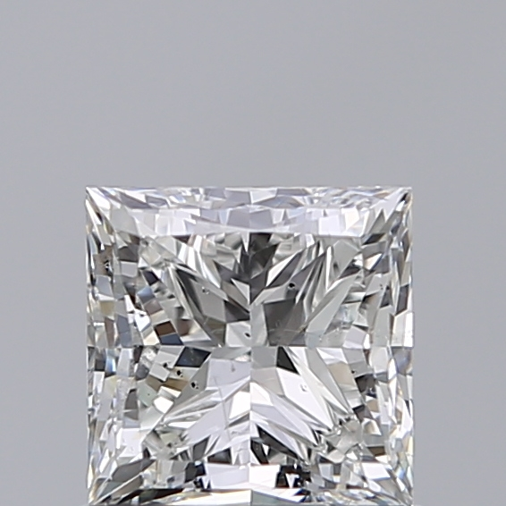1.01 Carat Princess Loose Diamond, H, SI2, Ideal, GIA Certified | Thumbnail