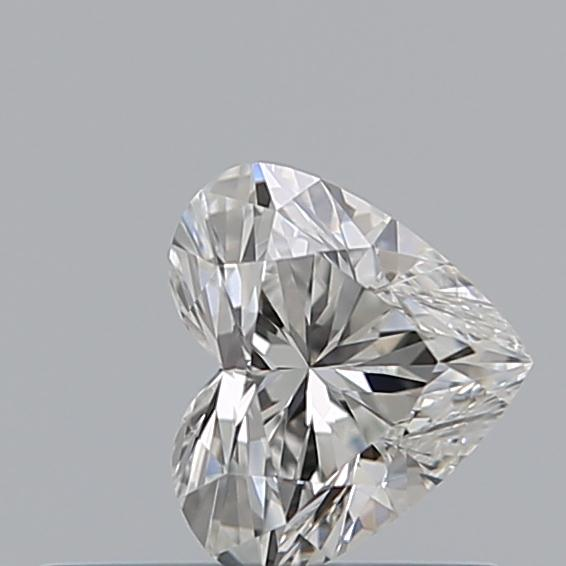 0.34 Carat Heart Loose Diamond, G, VS1, Super Ideal, GIA Certified | Thumbnail