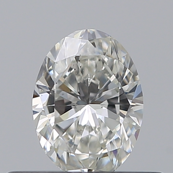 0.30 Carat Oval Loose Diamond, H, VS2, Ideal, GIA Certified
