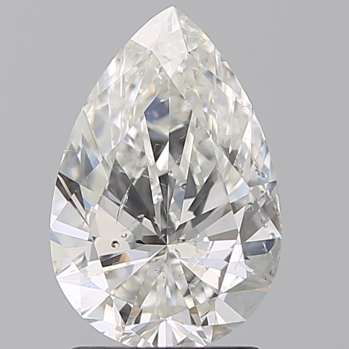 1.50 Carat Pear Loose Diamond, H, SI2, Super Ideal, GIA Certified