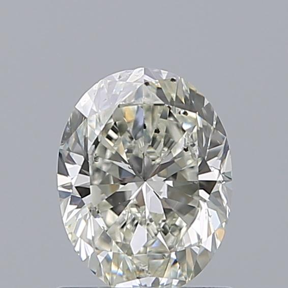 1.00 Carat Oval Loose Diamond, J, SI1, Excellent, GIA Certified