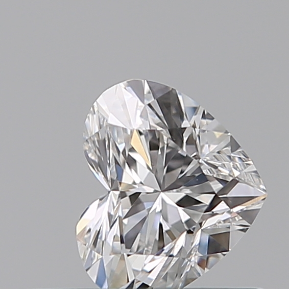 0.32 Carat Heart Loose Diamond, D, VS1, Ideal, GIA Certified