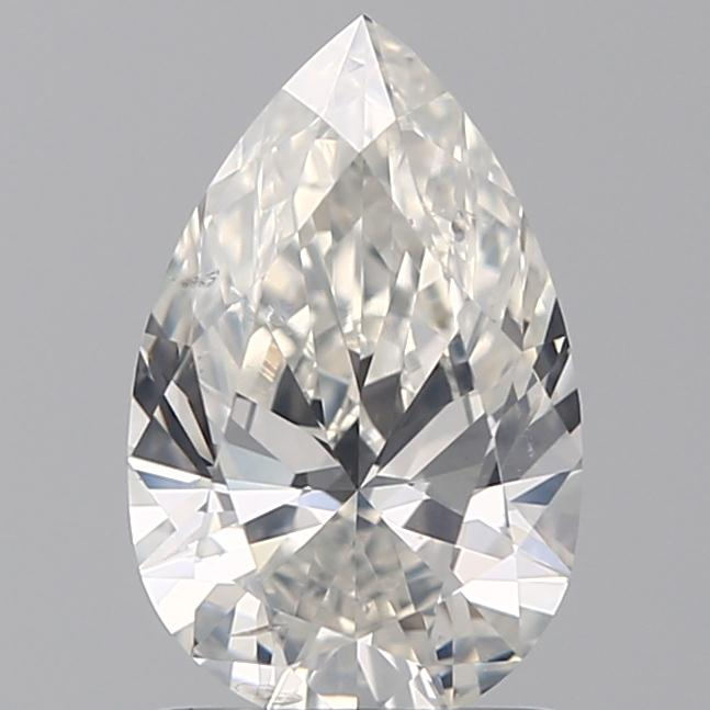 1.20 Carat Pear Loose Diamond, H, SI2, Super Ideal, GIA Certified | Thumbnail