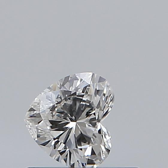 0.32 Carat Heart Loose Diamond, F, SI1, Excellent, GIA Certified