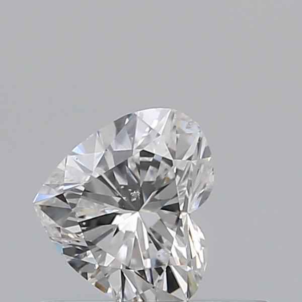 0.31 Carat Heart Loose Diamond, E, SI1, Excellent, GIA Certified